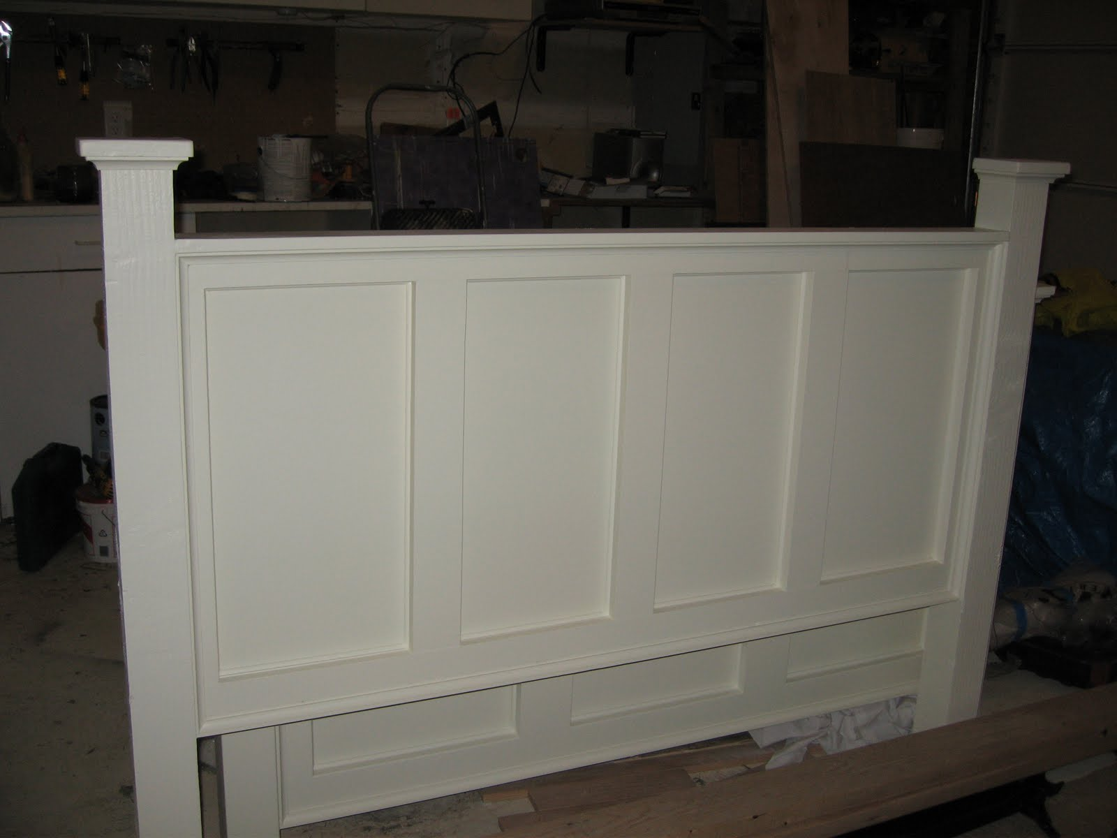 Kitchen CabiDoors Made From Old Headboard