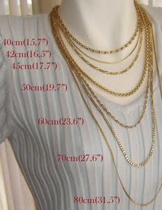 Necklace Length Measurement