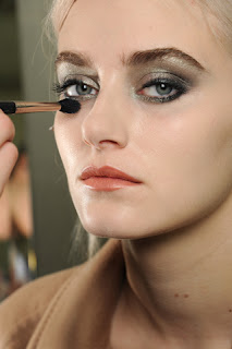 Chanel Fall 2011 runway makeup