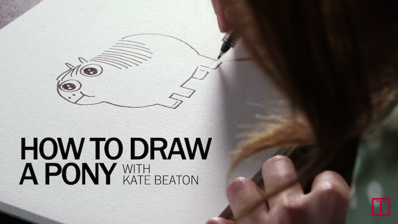 Kate Beaton Teaches You How to Draw the Fat Pony
