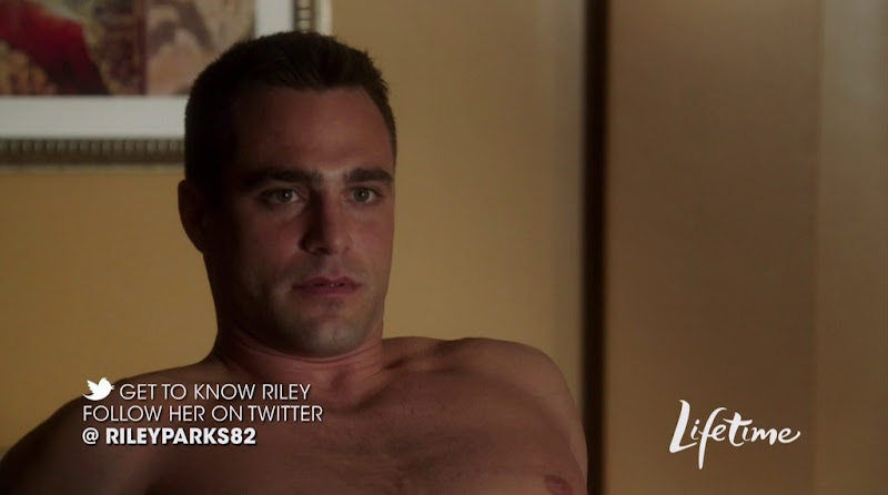 Marco Dapper Shirtless in The Client List s1e01