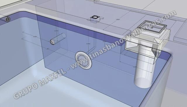 Maxfil sistema ecologico de filtracion para albercas for Instalacion hidraulica de una alberca