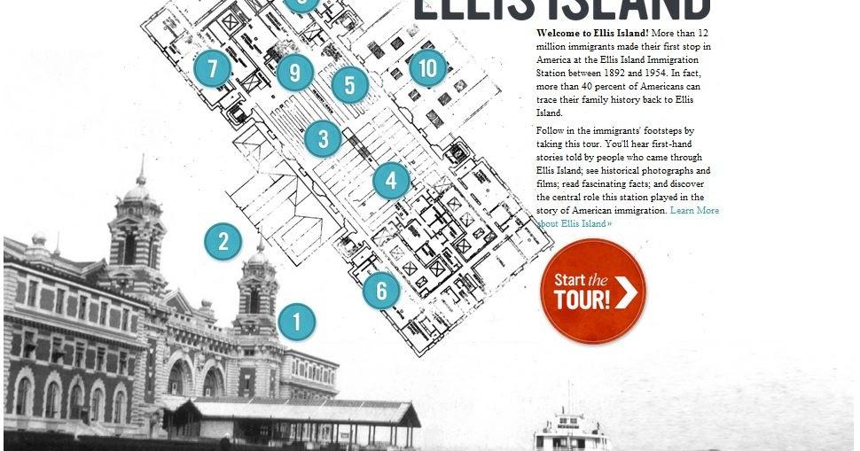 Ellis Island Virtual Tour Webquest