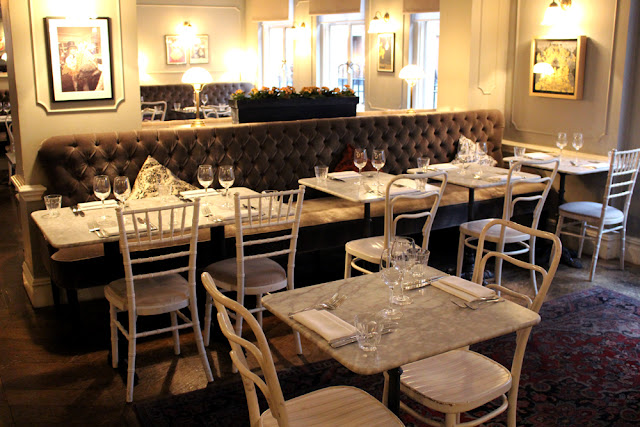 Kettners Brasserie, Soho, London - restaurant blogger