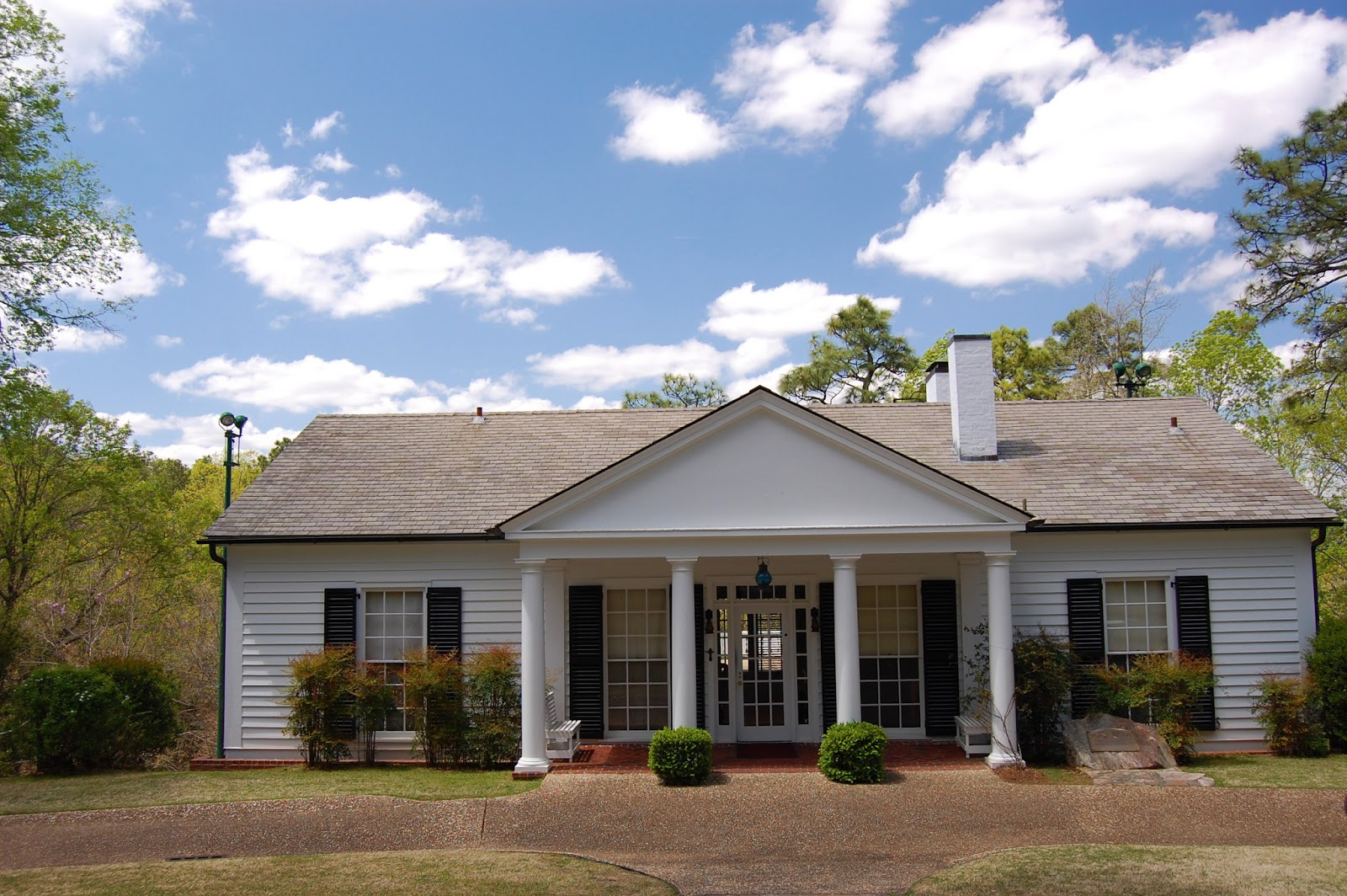 recollections of a vagabonde the little white house in georgia the little white house is a six room one story cottage quite humble for a president of the united states it was opened to the public in 1948 and has been