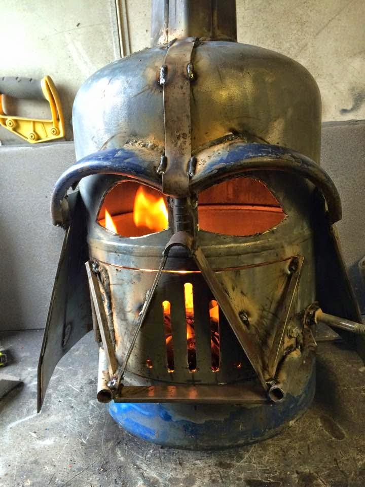 darth vader helmet firepit