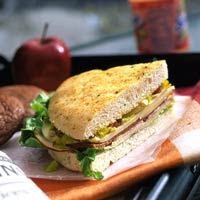 Smoked Turkey Muffuletta