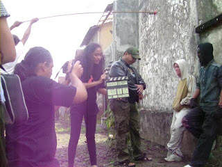 Pengambilan gambar film Sakti