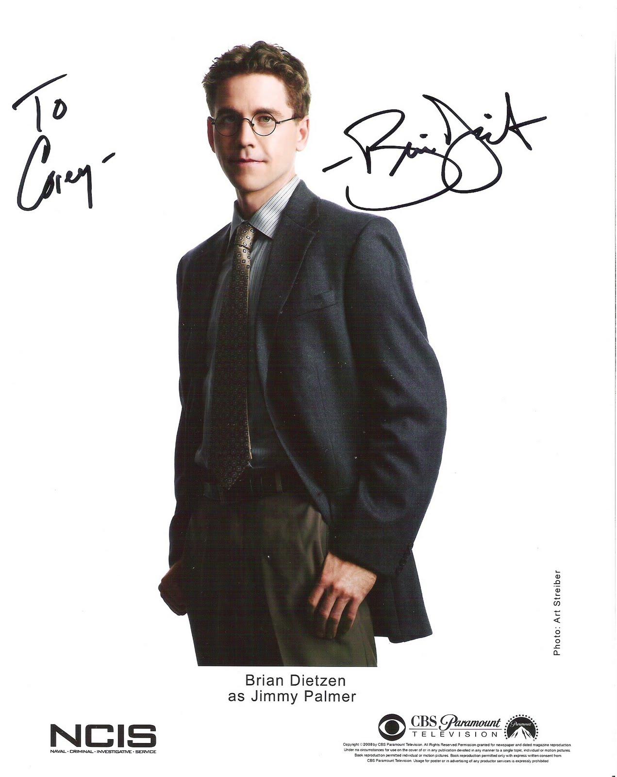 CJs World - The Autographs: Brian Dietzen - NCIS