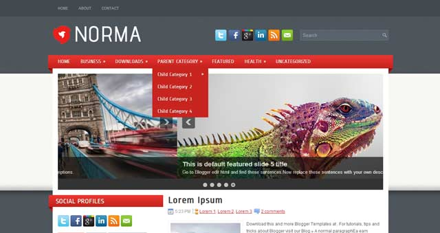 Norma---free-Blogger-Templates-2013-download