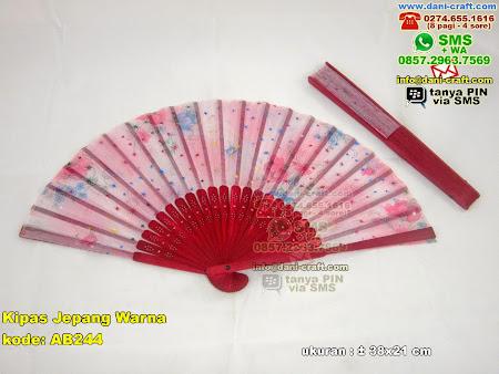 Kipas Jepang Warna