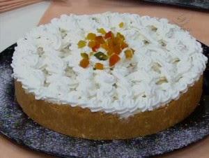 Torta de abacaxi com hortelã super fácil