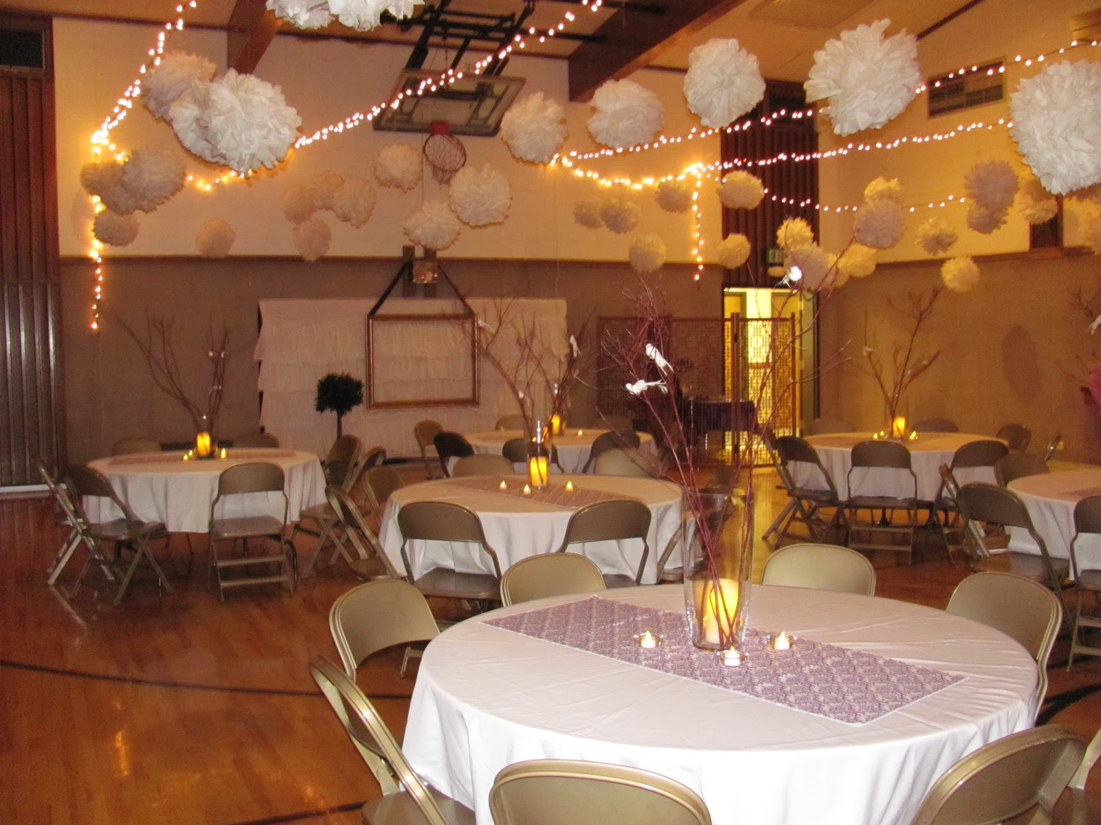 Header: Wedding Open House Decorating