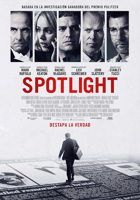Tráiler y póster de 'Spotlight', con cuatro nominaciones en los Independent Spirit Awards