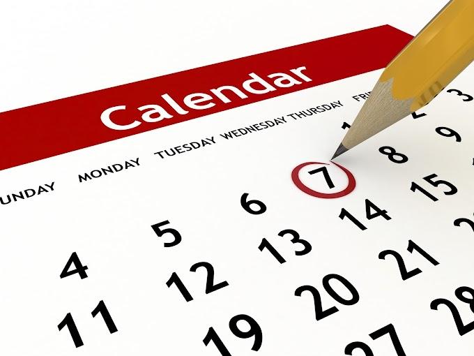 Macam mana nak buat kalendar sendiri secara online dengan percuma?
