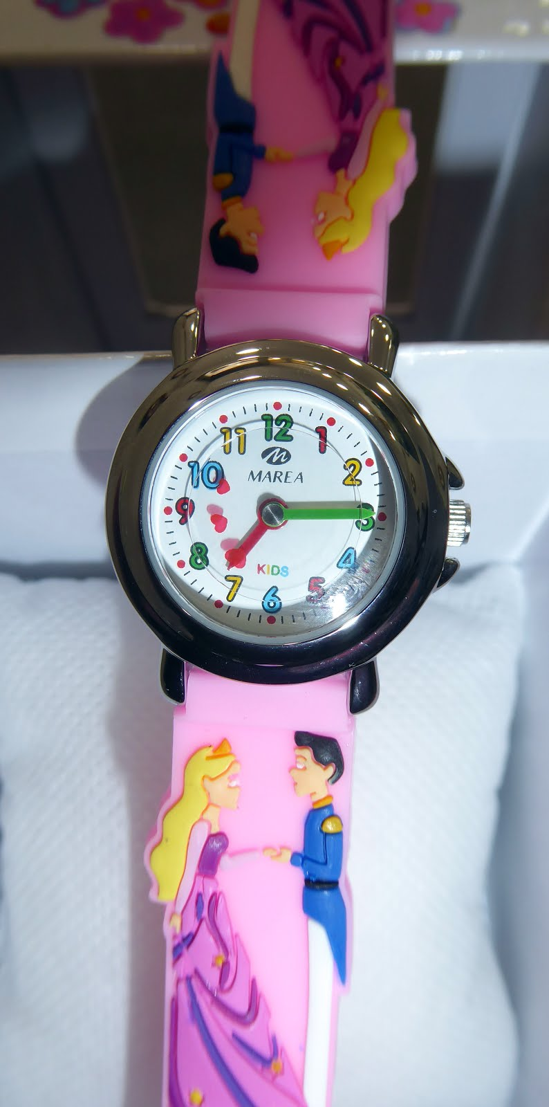 Reloj para niña, con todos los números