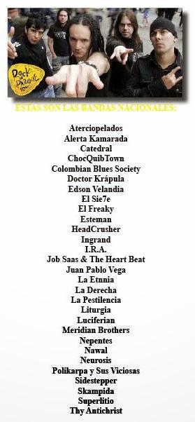 Estas-son-las-bandas-nacionales-invitadas-Rock-al-Parque-2014