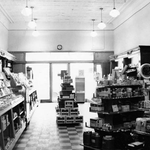 Pingle S Drug And Book Store Interior Editing Luke