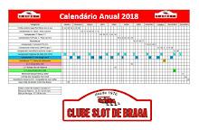 Calendário das provas para o ano de 2018