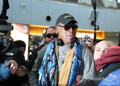 Dennis Rodman viaja a Corea del Norte