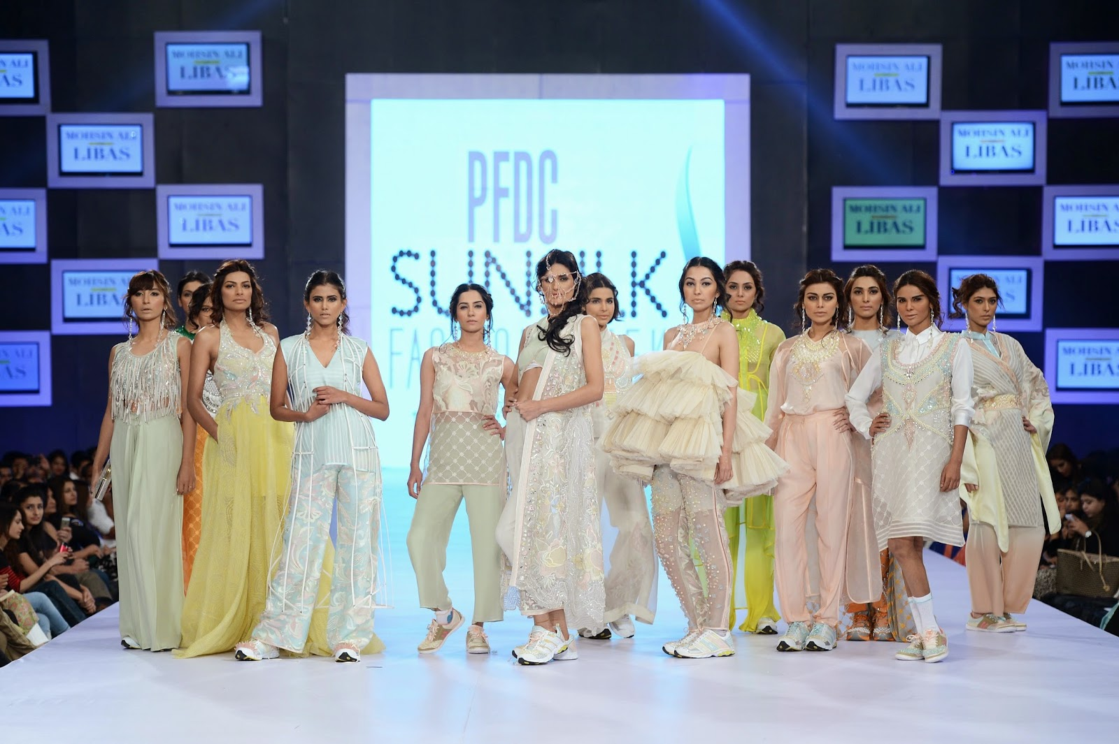 Mohsin Ali for Libas at PFDC Sunsilk Fashion Week 2014