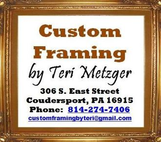 Custom Framing By Teri Metzger