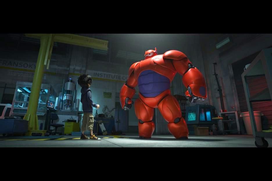 Gambar Big Hero 6 Film Animasi Walt Disney Kartun Lucu Baru Hiro Baymax