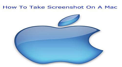 how to take scrren shot on mac