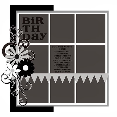 Birthday Sketch_Banner_Grid Design