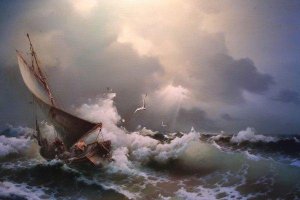 Mare in tempesta - Eugene Garin