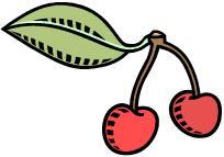 a cherry (cherries)