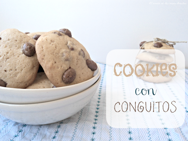 galletas cookies chocolate conguitos