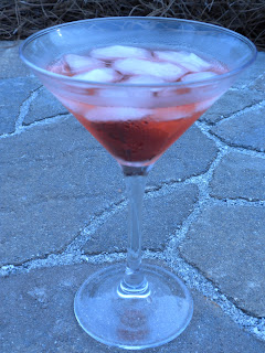 Cherry-Lime Vodka Martini