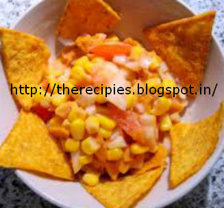 spicy corn chaat