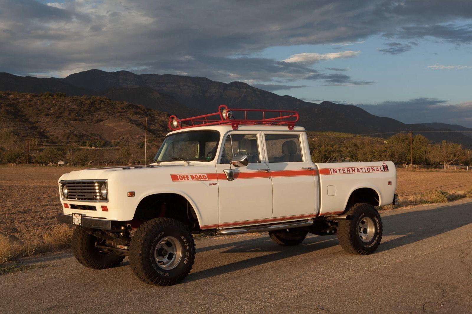 1973 international 4x4 crewcab restomod pickup truck for sale 4x4 friday. Black Bedroom Furniture Sets. Home Design Ideas