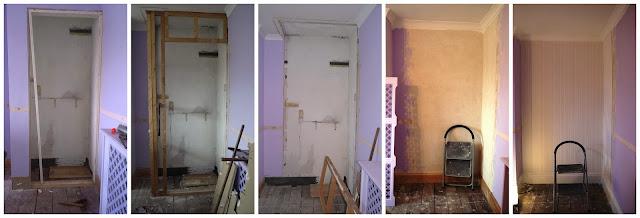 Boiler Cupboard Demolition