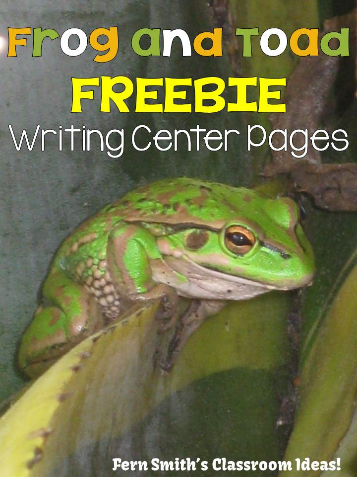 http://www.fernsmithsclassroomideas.com/2014/04/ferns-freebie-friday-free-frog-and-toad.html