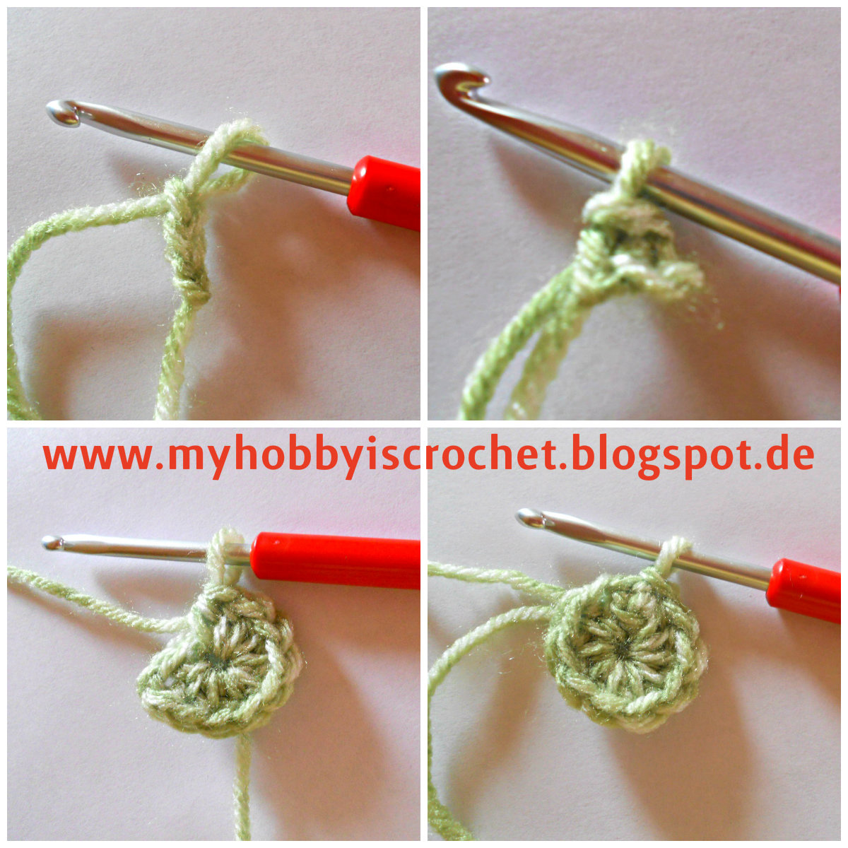My Hobby Is Crochet: Crochet Dahlia Flower - Free Pattern with Step ...