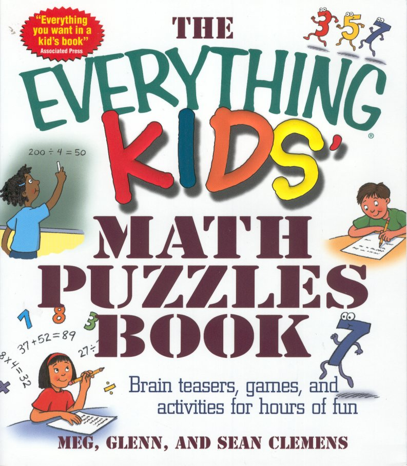 Kids Zone : The Everything Kids Math Puzzles Book