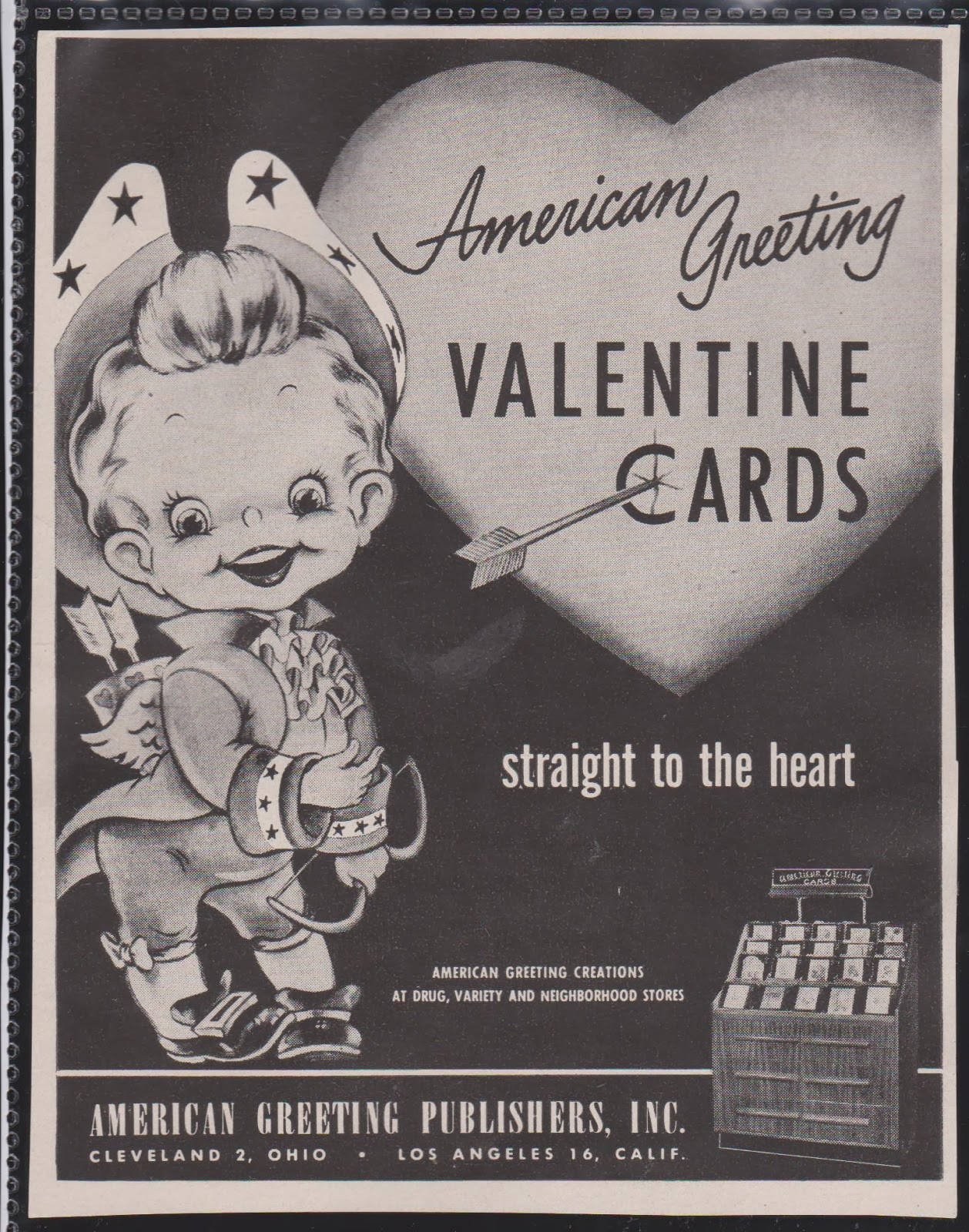 Vintage recycling 1949 american greetings valentine ad 1949 american greetings valentine ad kristyandbryce Images