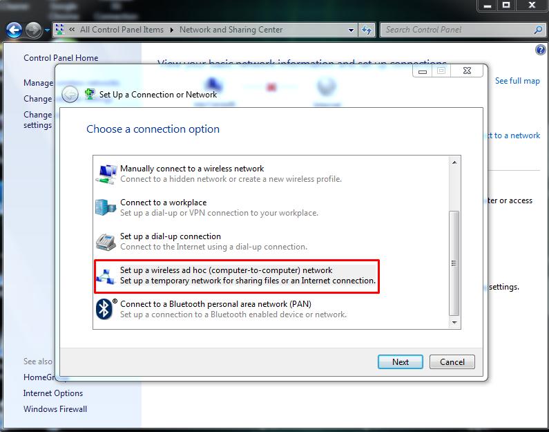 Cara Membuat Wifi Ad Hoc Di Windows 7 Graphic Design By