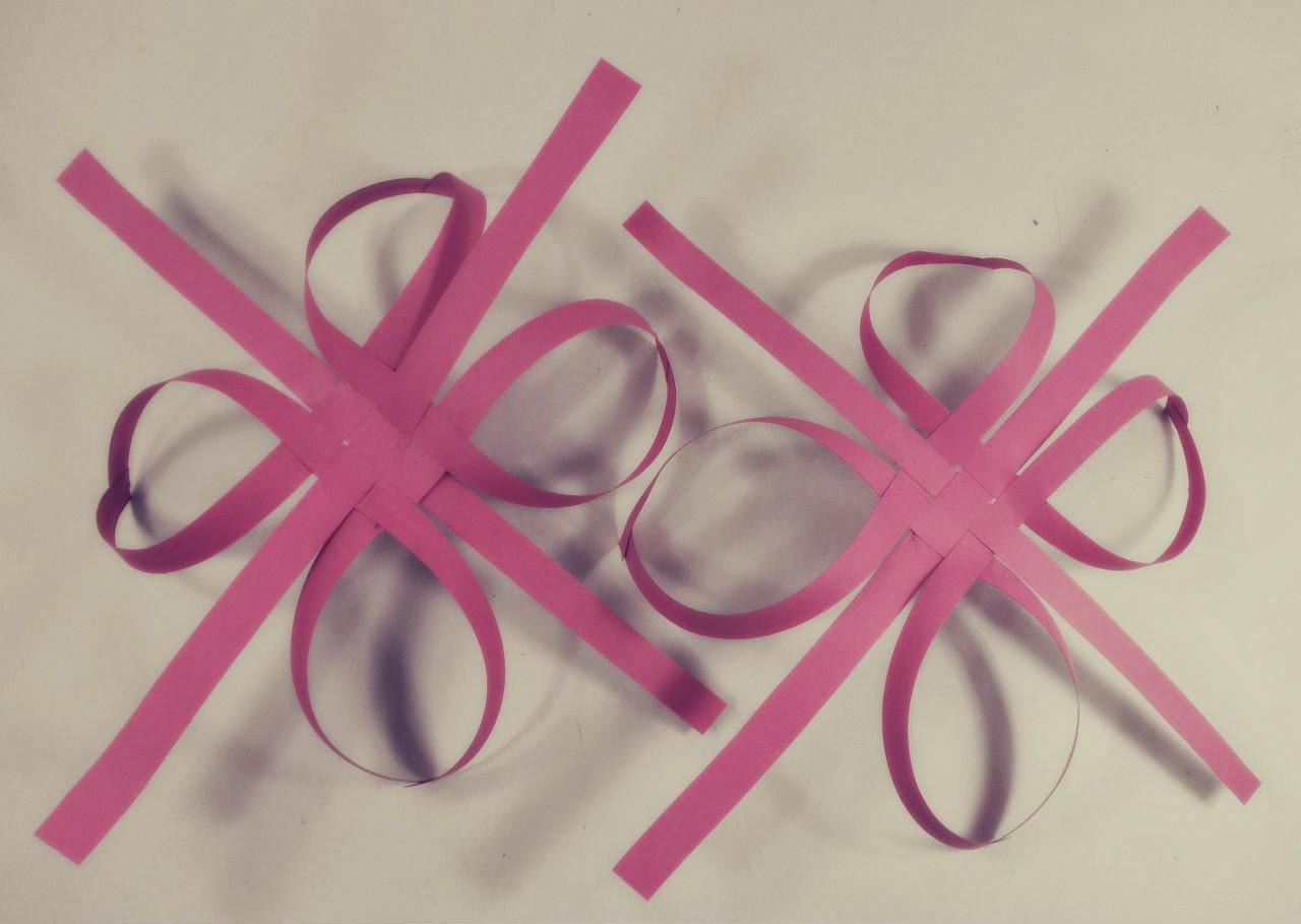 Diy adorno de navidad copo de papel nika vintage - Adornos de papel para navidad ...