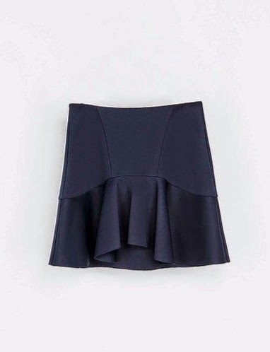Falda volante Zara