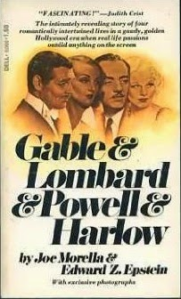 Gable & Lombard & Powell & Harlow book cover