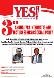 3rd Annual YES international! Lecture Series/Cocktail Party