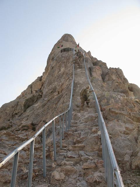 Kandahar, Afghanistan stairs