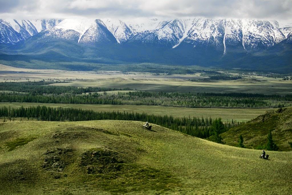 Podróże motocyklowe do Azji, Mongolii, Syberii