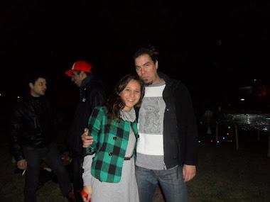 Con Eze Ábalos en la FLIA