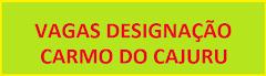 Designação Carmo do Cajuru