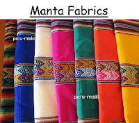Manta Fabrics from Peru